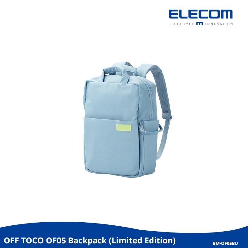 ELECOM OFF TOCO OF05 BP LIMITED EDITION 3-Way Style Bacpack / School / Casual / Office / Water-Repellent / Travel / Fashion / Style