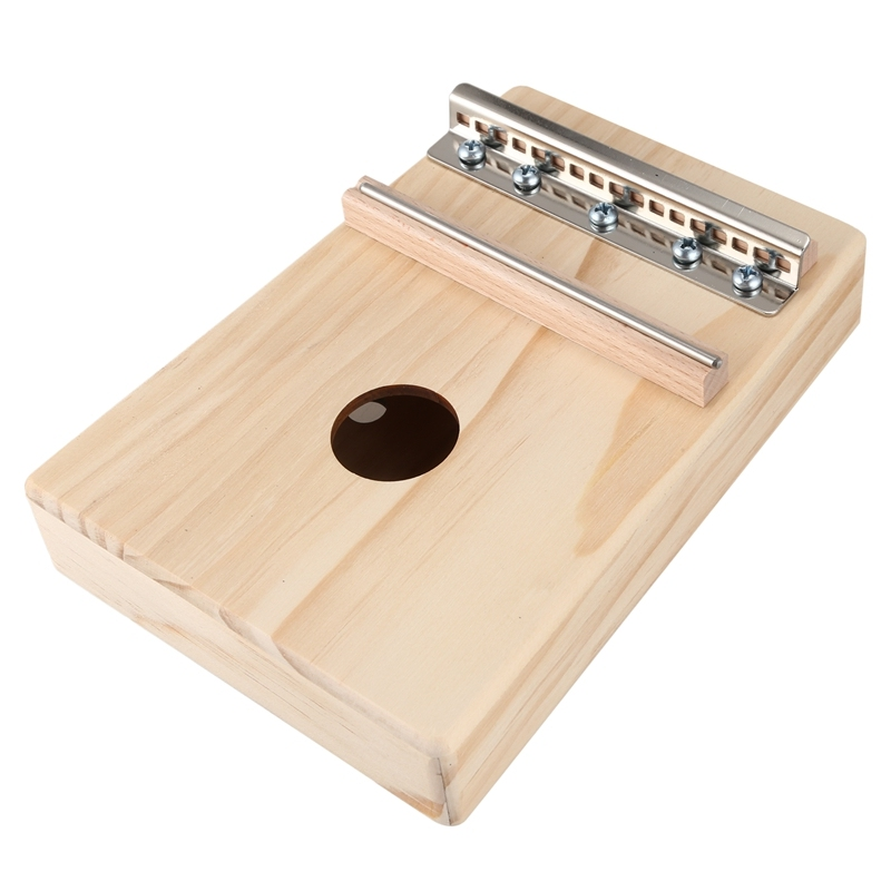 Simple Assembly 17 Key Kalimba Handwork DIY Kit Wood Finger Thumb Piano for Children Kids Musical Instrument Malaysia