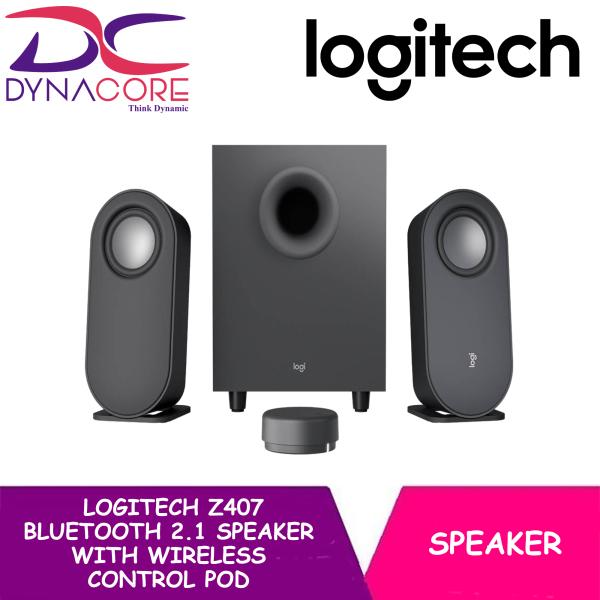 DYNACORE - Logitech Z407 Bluetooth 2.1 Speaker with Wireless Control Pod