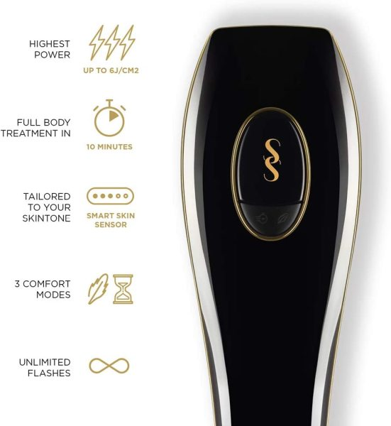 Buy SmoothSkin Pure Black IPL Hair Removal System + Free Gift Worth $19.90 Singapore