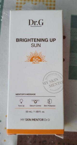 Buy Dr. G Brightening Up Sun Cream SPF50PA+++ (50m) Singapore