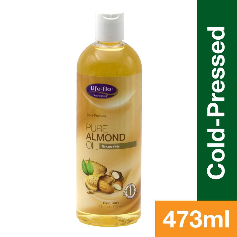 Buy Life-Flo Pure Almond Oil Cold Pressed 16oz Singapore