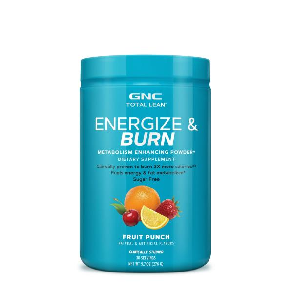 Buy GNC Total Lean Energize and Burn - Fruit Punch Singapore