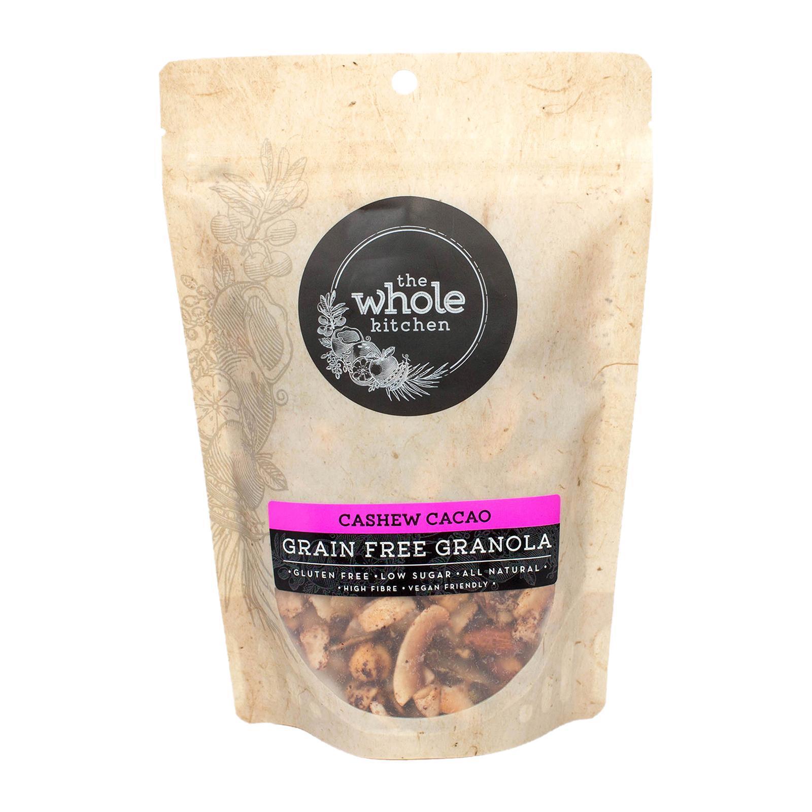 The Whole Kitchen Gluten Free Granola - Cashew Cacao (Grain Free)