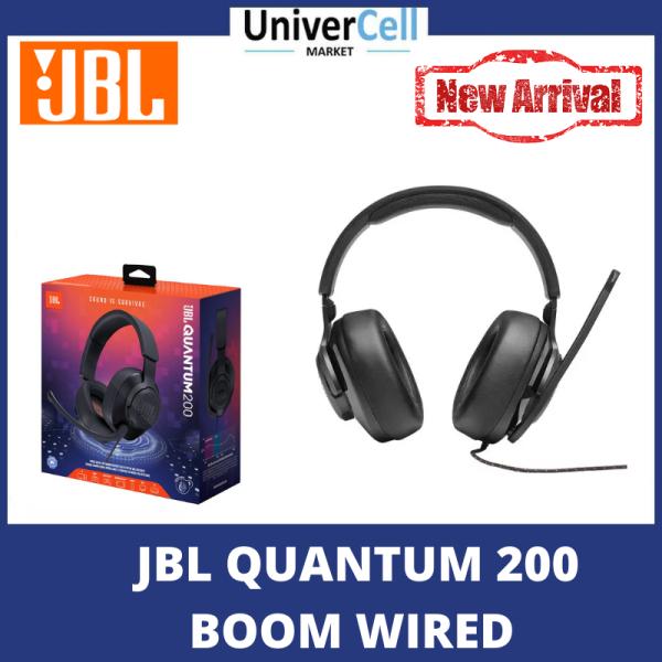 JBL QUANTUM 200 BOOM WIRED Singapore
