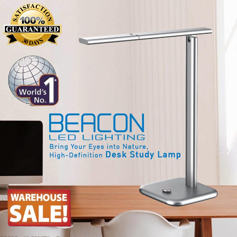 BEACON LED Table Lamp/ Study Desk Lamp -  THE WORLD BEST EYE PROTECTION LAMP / HIGH DEFINITION / LIFETIME WARRANTY / 30 Days Unconditional Return 100% Money Back Policy / WITH SAFETY MARK