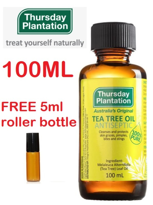 Buy [Exp 12/2024]Thursday Plantation Tea Tree Oil 100ml Singapore