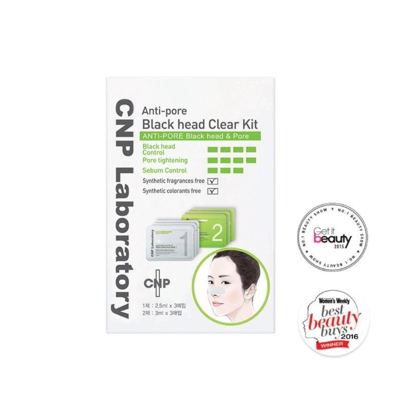 Buy CNP Laboratory Anti-Pore Blackhead Clear Kit 3 Sets Singapore