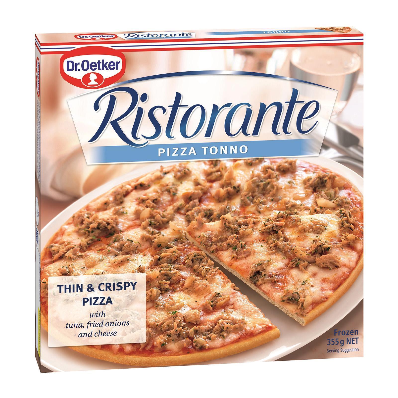 Dr Oetker Ristorante Tonno Pizza - Frozen