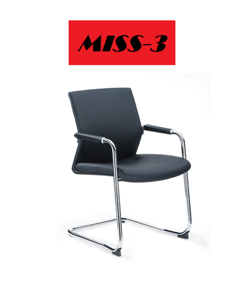 MISS-3 CH319C FIXED ARM , WHEELESS LEATHER CHAIR (FREE DELIVERY&FREE INSTALLATION)1 YEAR WARRANTY Singapore