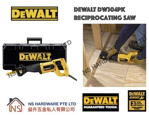 DEWALT DW304PK RECIPROCATING SAW / ELECTRICAL WOOD SAW / MADE IN MEXICO