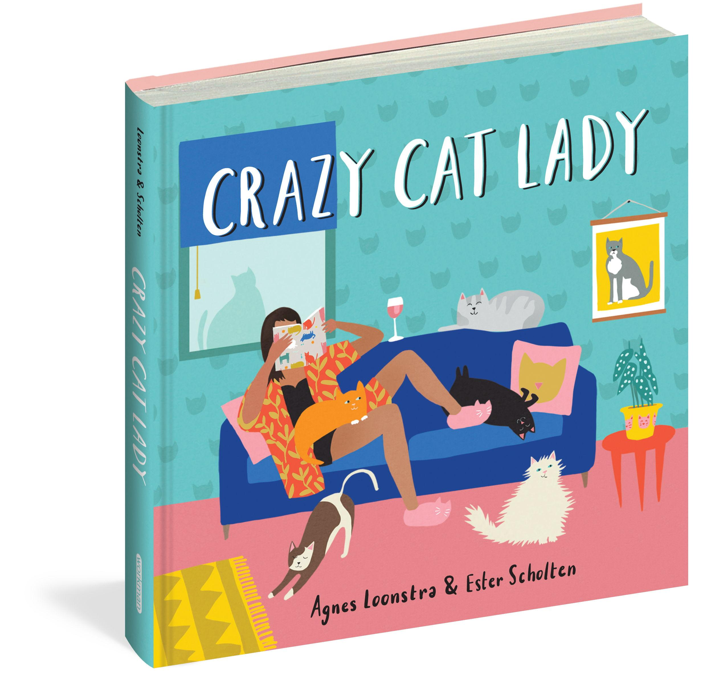 Crazy Cat Lady by  Agnes Loonstra