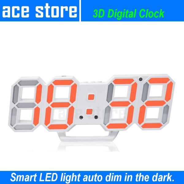 3D Smart Digital LED Alarm Clock
