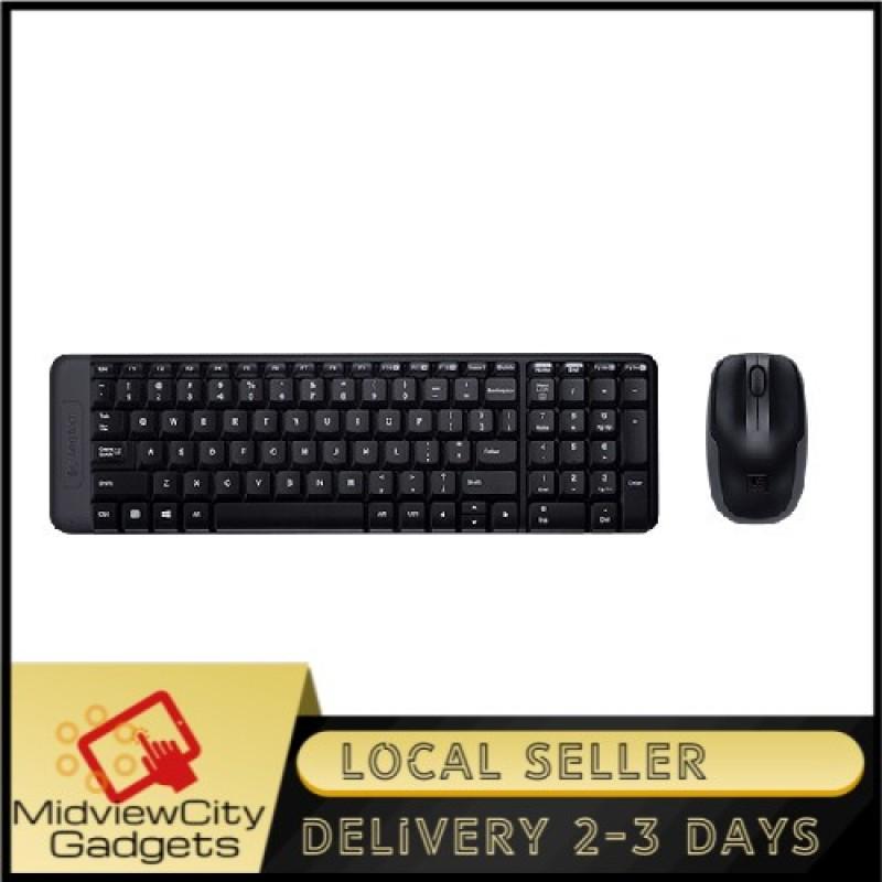 Logitech MK215 Wireless Keyboard & Mouse Combo (Small Footprint, Ultra Compact) Singapore