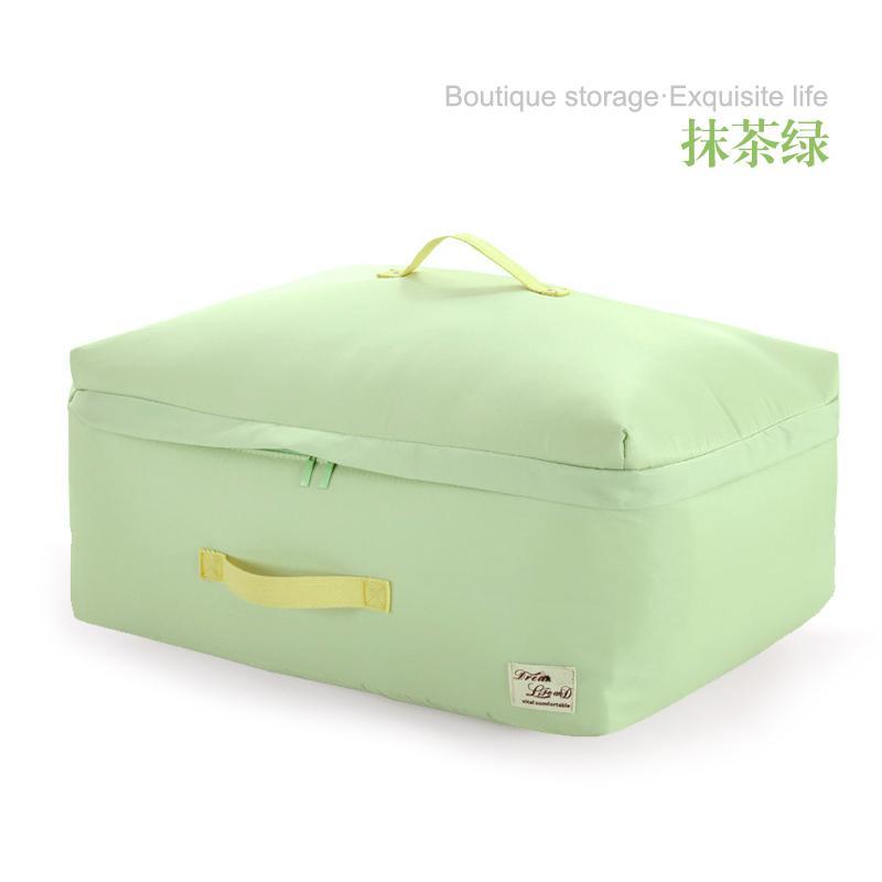 Sivin Blanket Storage Bag Quilt Storage Organizing Folders Kindergarten Bedding Doggy Bag Clothing Fabric Moisture-Proof Household
