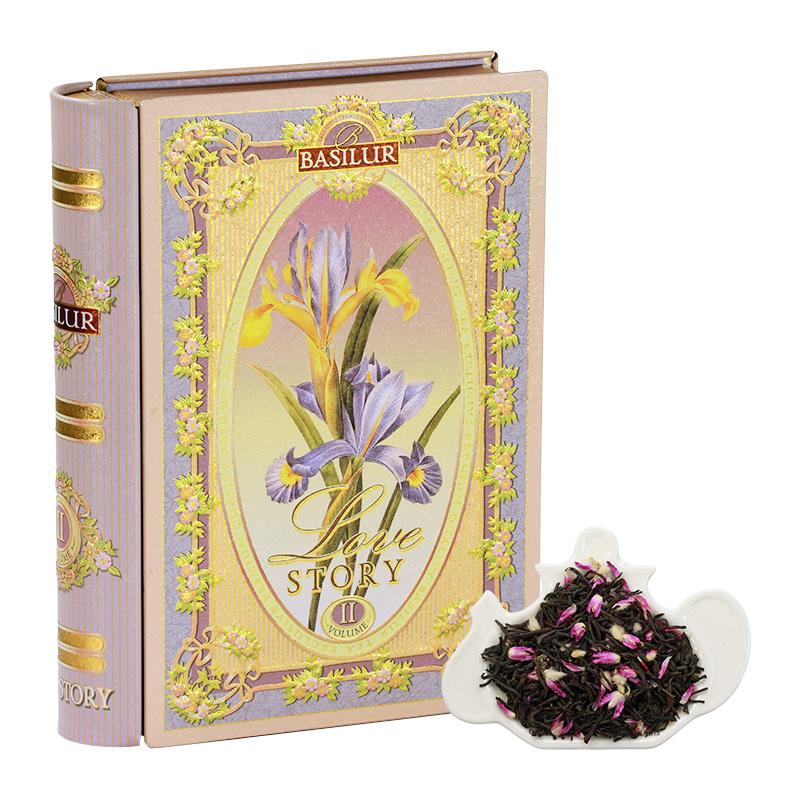 Basilur Tea Love Story Volume Ii - Rose And Almond Floral Tea 100g By Oriental Royalty Singapore Pte Ltd.