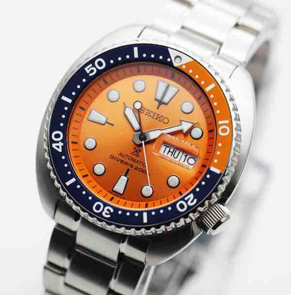 BNIB Seiko Prospex Diver Scuba SBDY023 Orange Turtle Limited Edition Men Watch