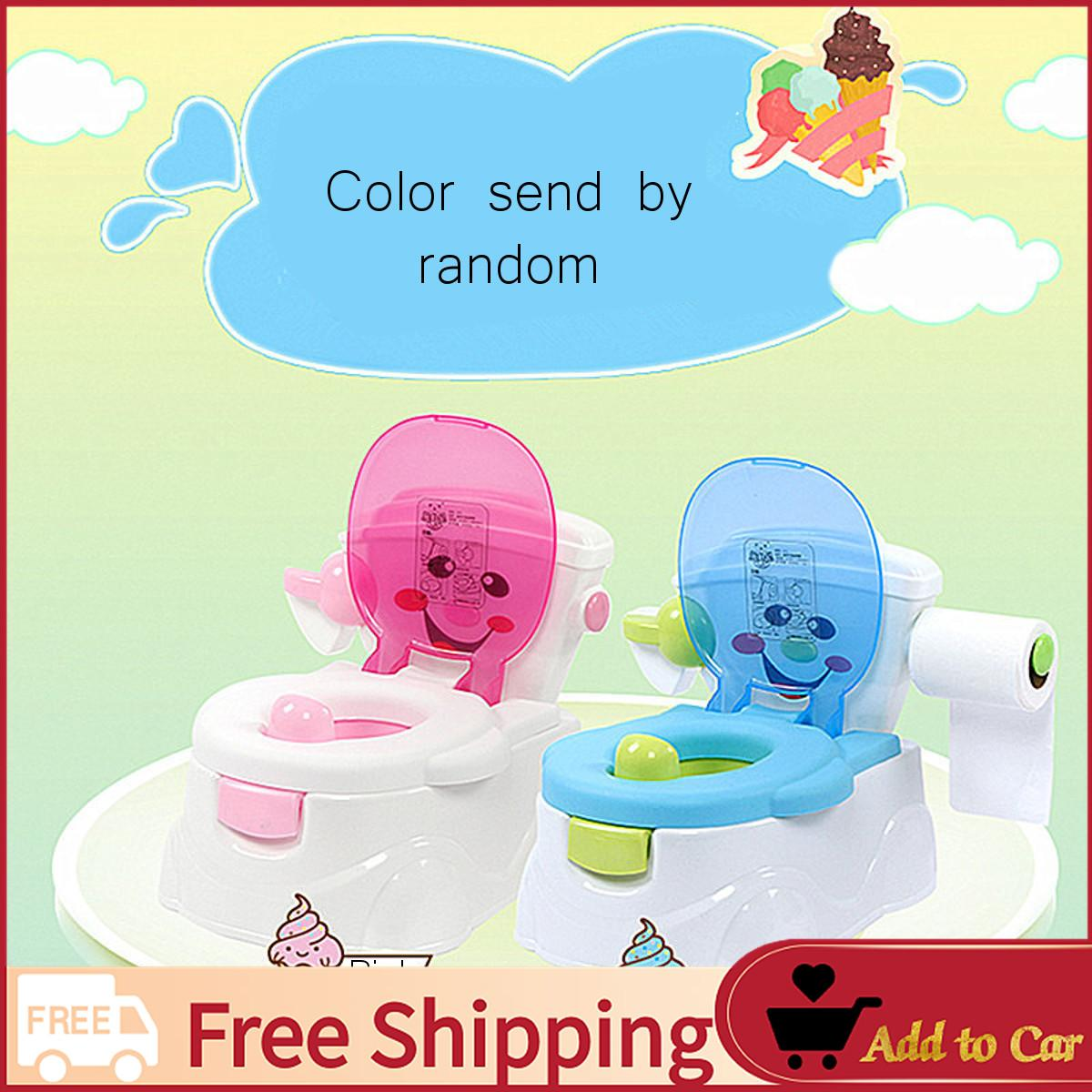 【free Shipping】fisher Price My Talking Potty Friend - Musical Learning Sounds Toilet Training - Intl By Freebang.