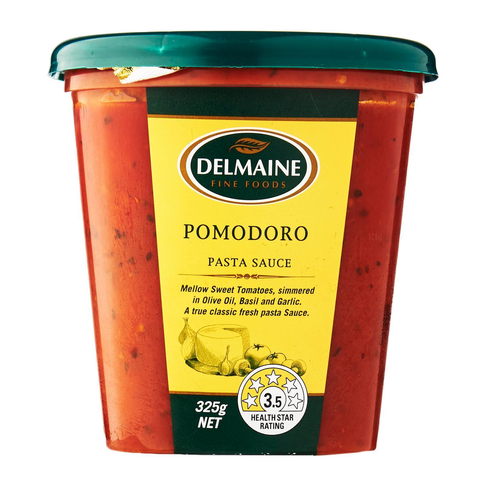 Delmaine Pomodoro Fresh Pasta Sauce By Redmart.