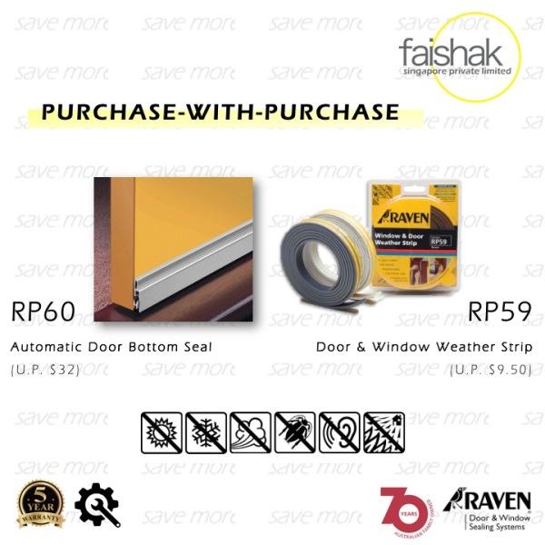Raven, Automatic Door Seal, RP60