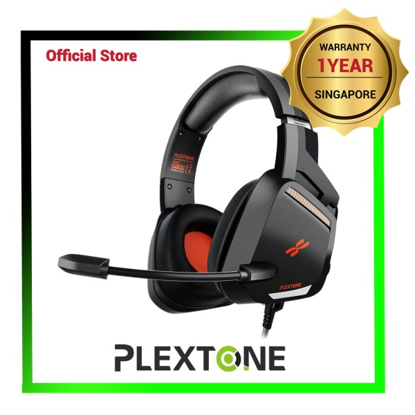 PLEXTONE G800 Lightweight Endurance High Precision Gaming Headset (3.5mm Interface) - 1 Yr Local Warranty