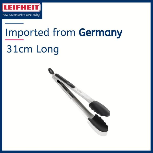 Leifheit High Quality Kitchen & Grill Tongs 31cm (Cooking Tongs/ Serving Tongs/Kitchen Accessories) L03083