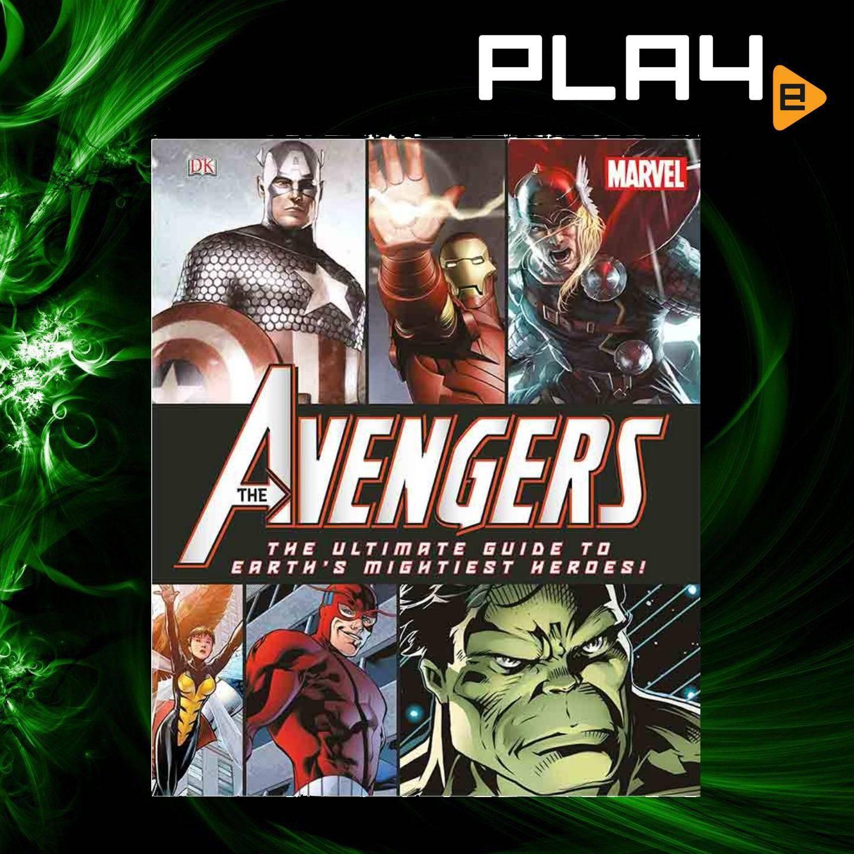 Marvel Avengers Ultimate Guide Hardcover Book
