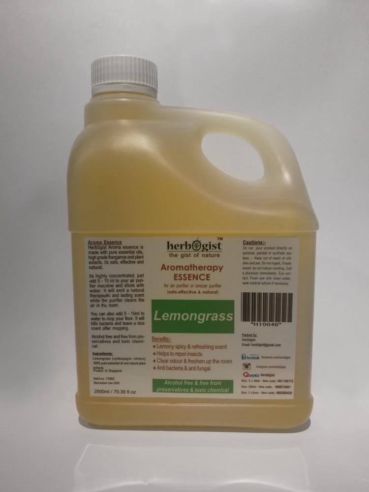 ✿ [Special Promo] Herb0gist 2000ml Lemongrass Aromatherapy Essence ✿