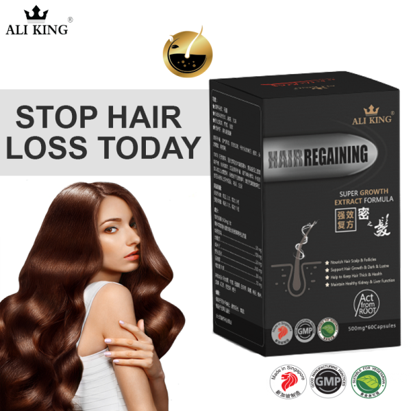 Buy Hair Regaining   Nutritional Hair Growth Supplement   60 Veg Caps Singapore