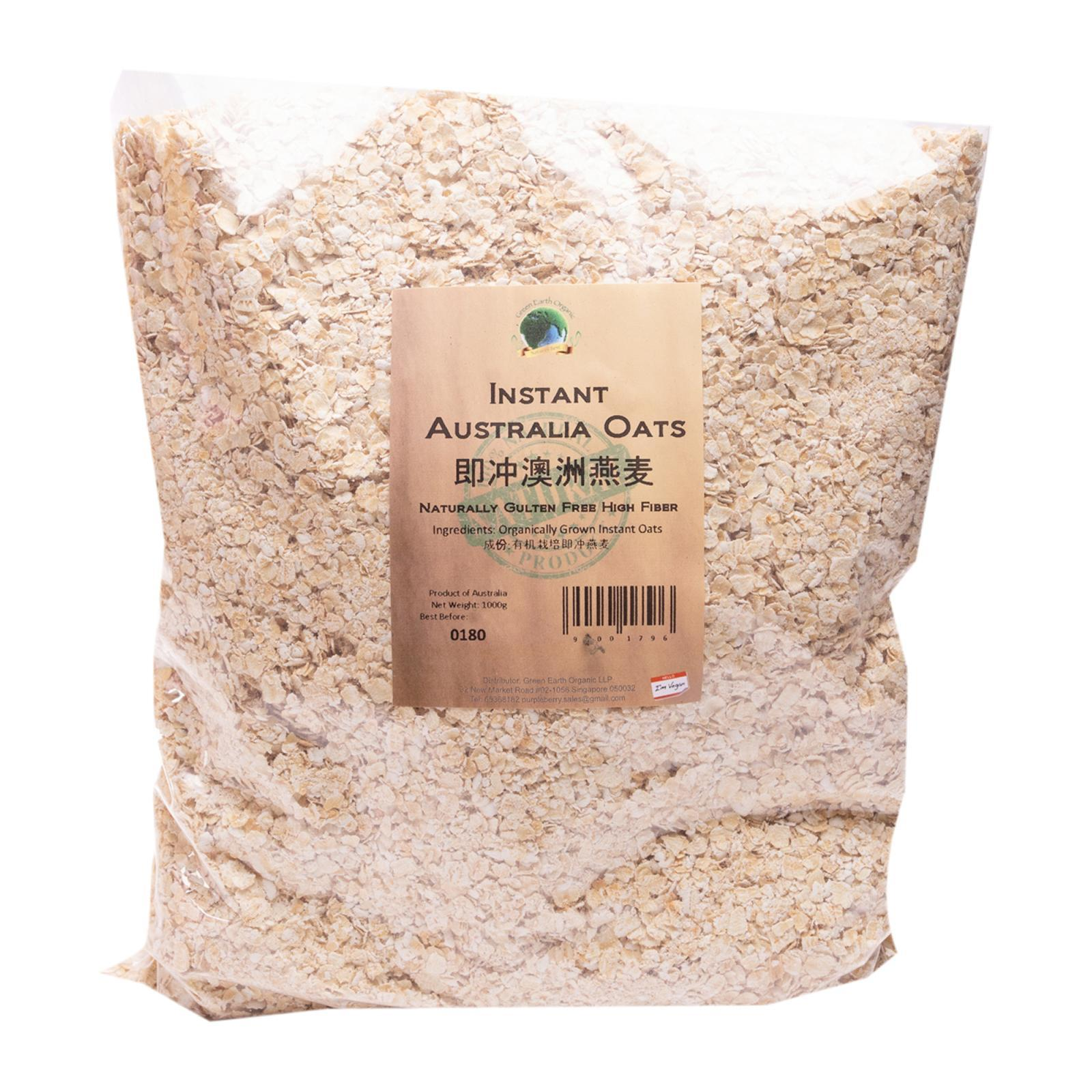 Green Earth Organic Oat Groat from RedMart - diffmarts Singapore