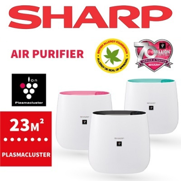 SHARP FP-J30E BLACK/BLUE/PINK PLASMACLUSTER AIR PURIFIER Singapore