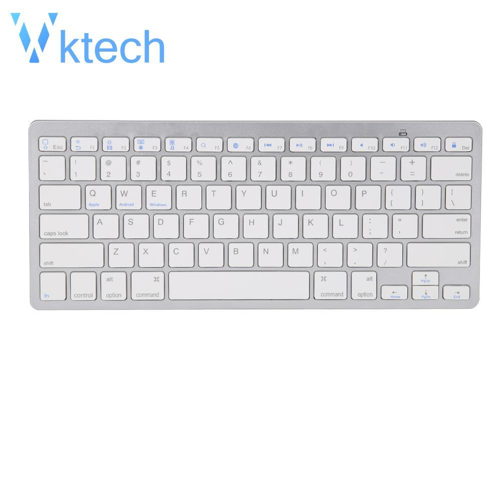 [vktech] Wireless Bluetooth 3.keyboard For Apple Ipad 2 3 4 Ipad Air 1 2 Ipad Mini By Vktech Official Store