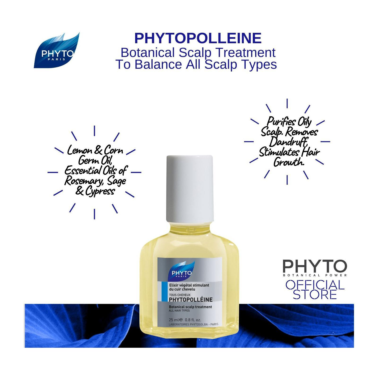 Phyto Phytopolleine Botanical Pre-Shampoo Scalp Stimulating Treatment