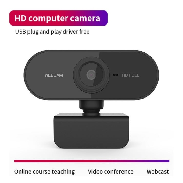 USB Webcam Built in Mic Microphone HD 1080P Mini web camera PC for Video Conferencing Recording Streaming