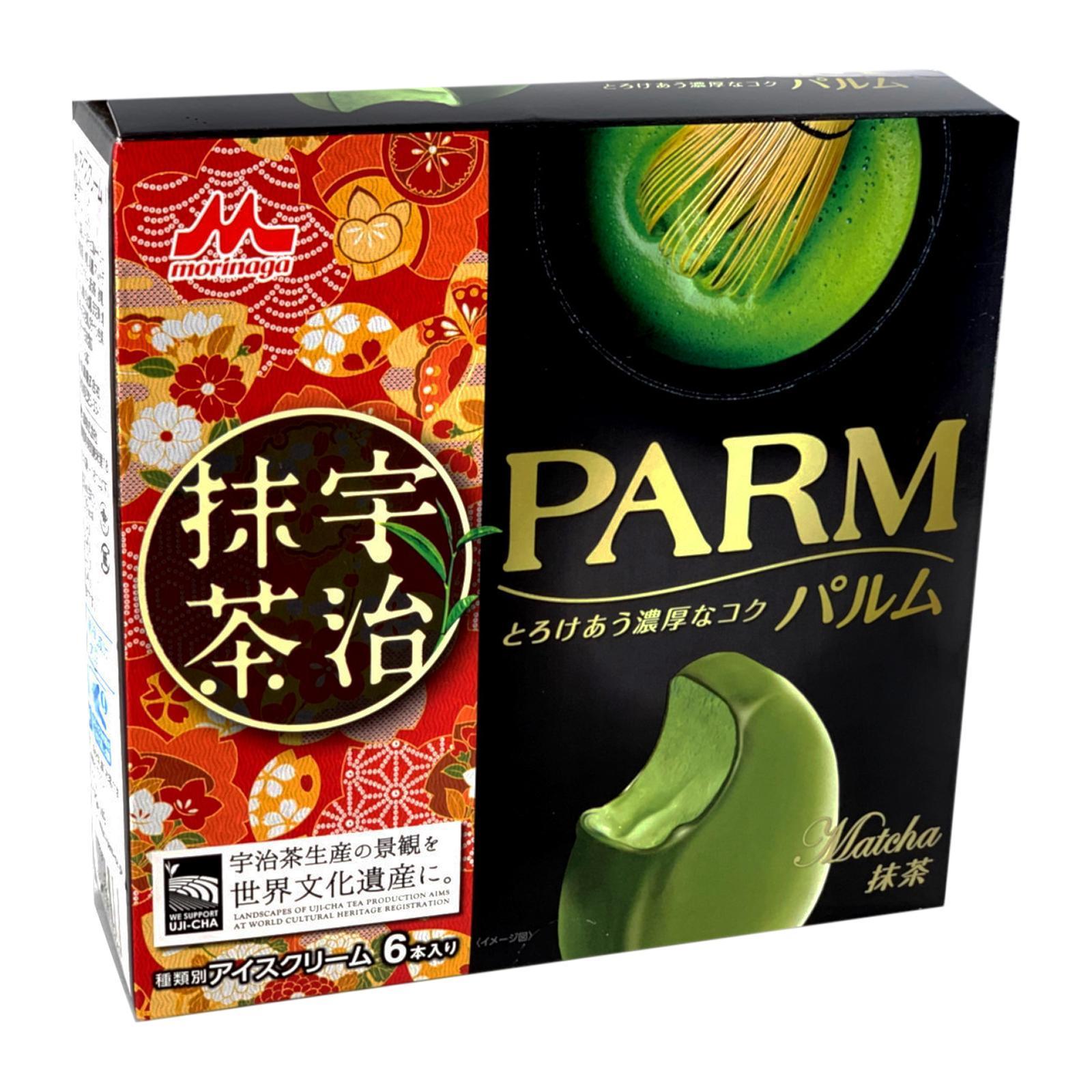 MORINAGA Parm Uji Matcha Chocolate Ice Cream Bars
