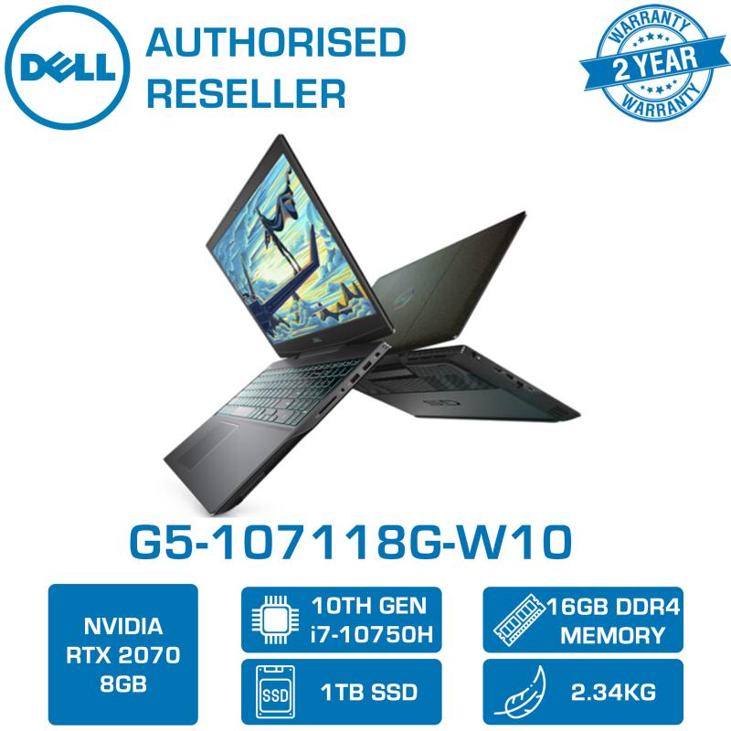 DELL G5-107118G-W10 15.6 300hz | i7-10750H | 16GB Ram | 1TB SSD | RTX™ 2070 | 2 Yrs Warranty
