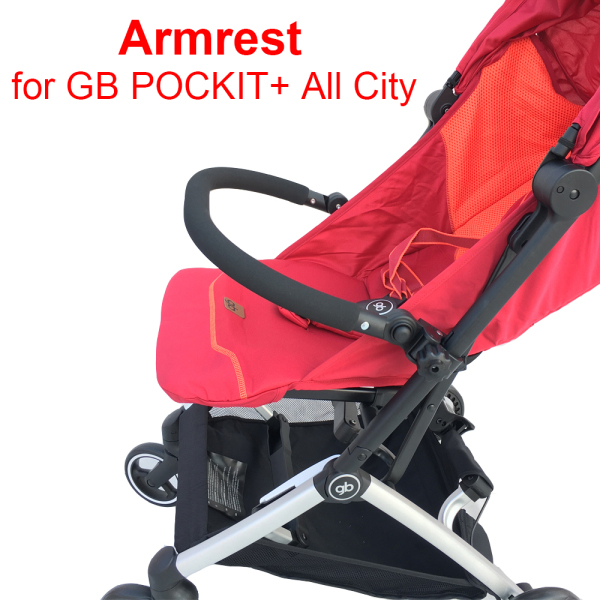 Tailor-made GB POCKIT All City Baby Stroller Accessories Adustable Armrest EVA Bumper for Goodbaby Pockit+ All City Singapore