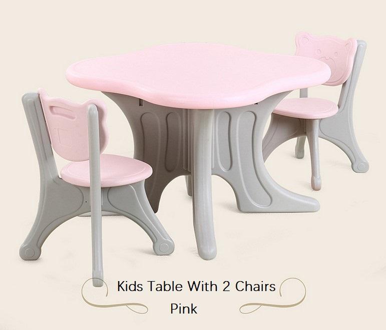 Study Kids Study Table Desk Chair Stool