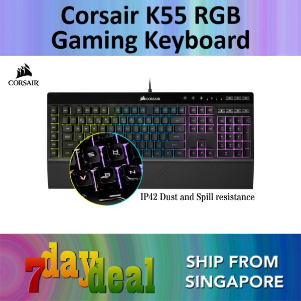 Corsair K55 RGB Gaming Keyboard Singapore