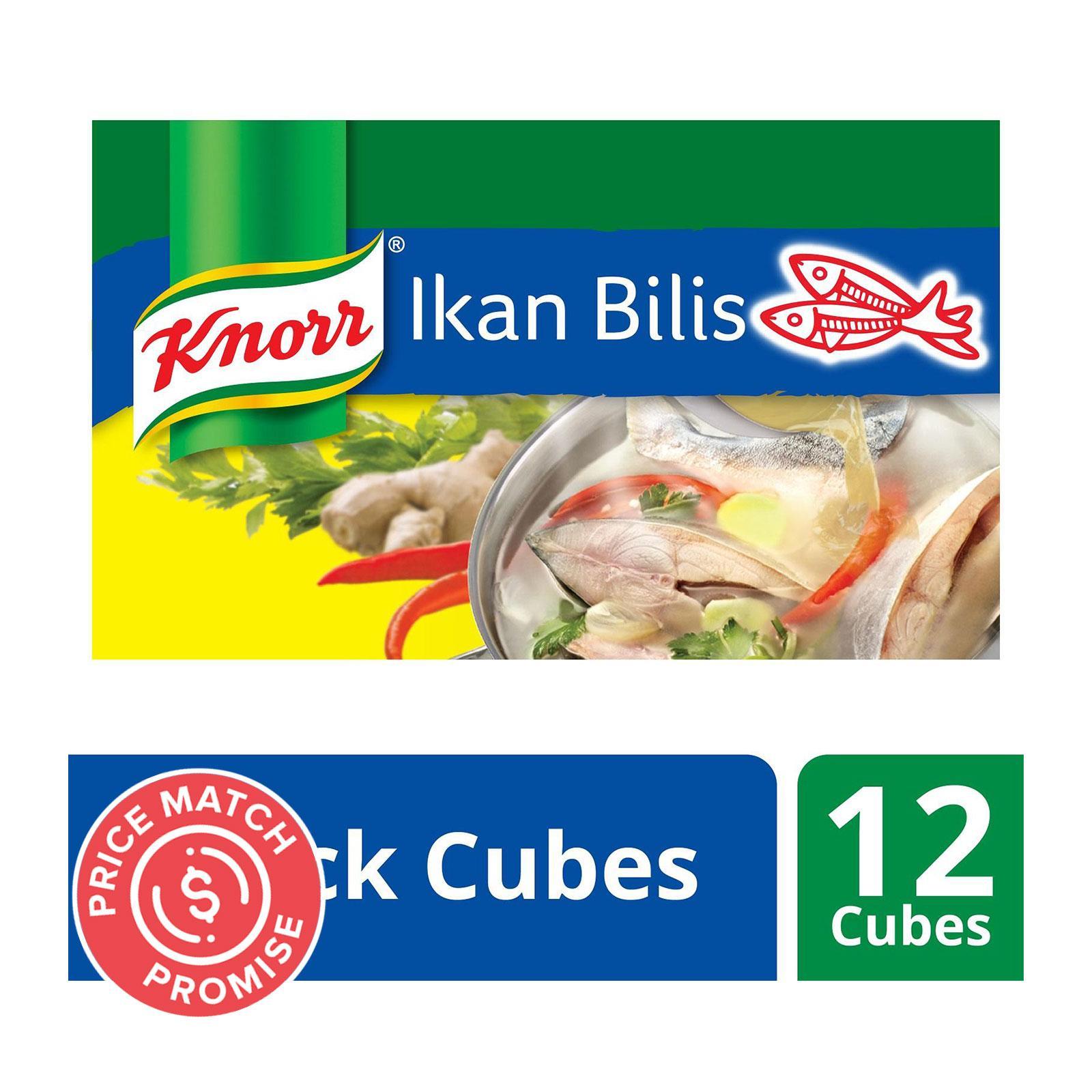 KNORR Stock Cubes - Ikan Bilis 120g