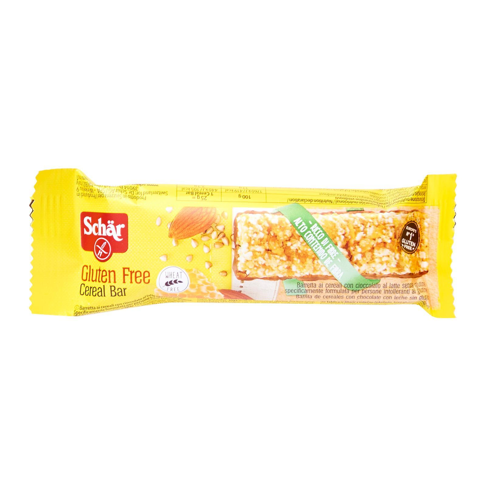 Dr. Schar Cereal Bar - Gluten Free by Agora Products