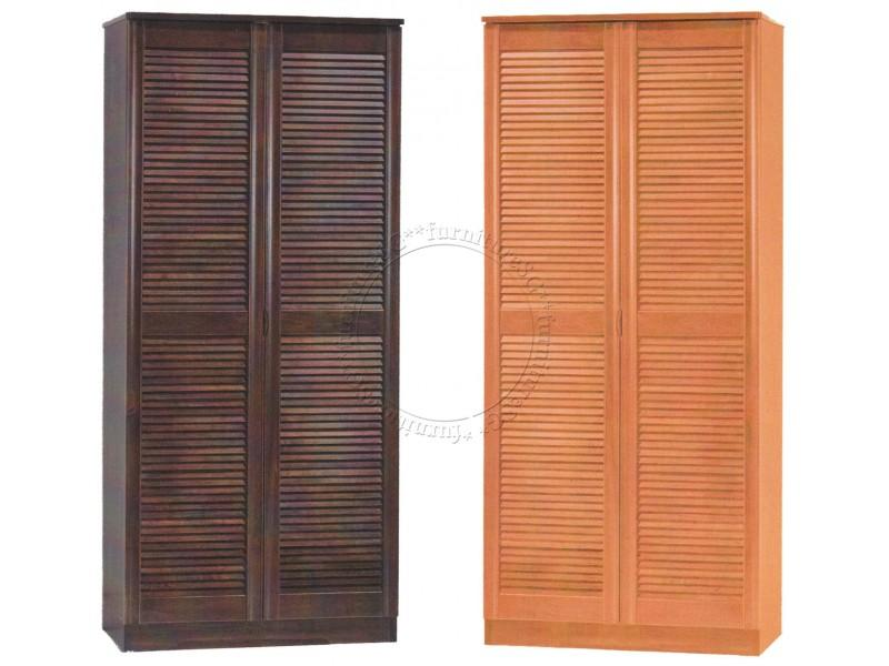 (FurnitureSG) 2 Door High Shoe Cabinet [Free Delivery and Installation]
