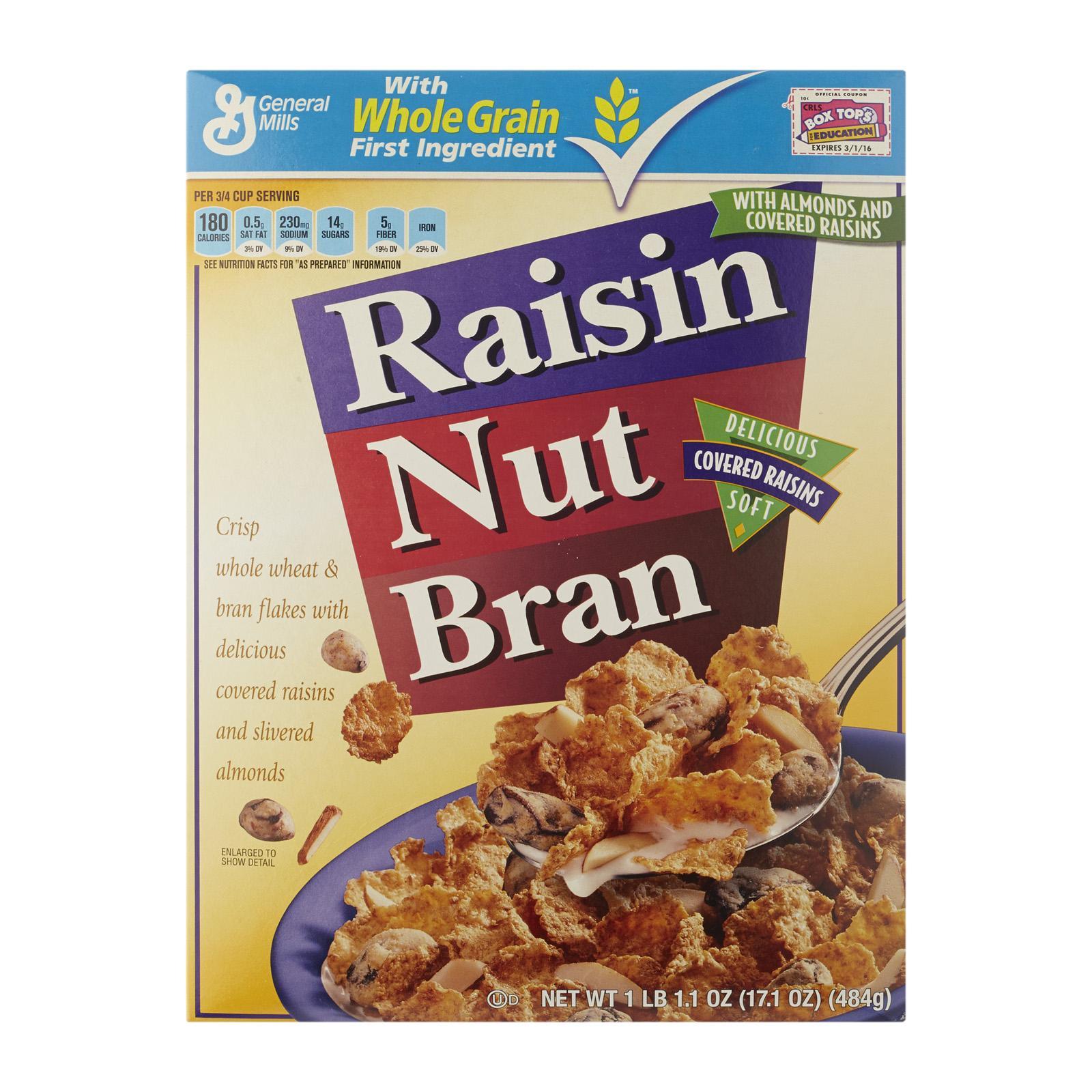 General Mills Raisin Nut Bran Cereal