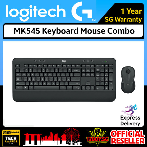 Logitech MK545 Keyboard and Mouse Combo 3PM.SG 12BUY.SG 1 Year SG Warranty Express Door Delivery 3 to 7 Days Singapore