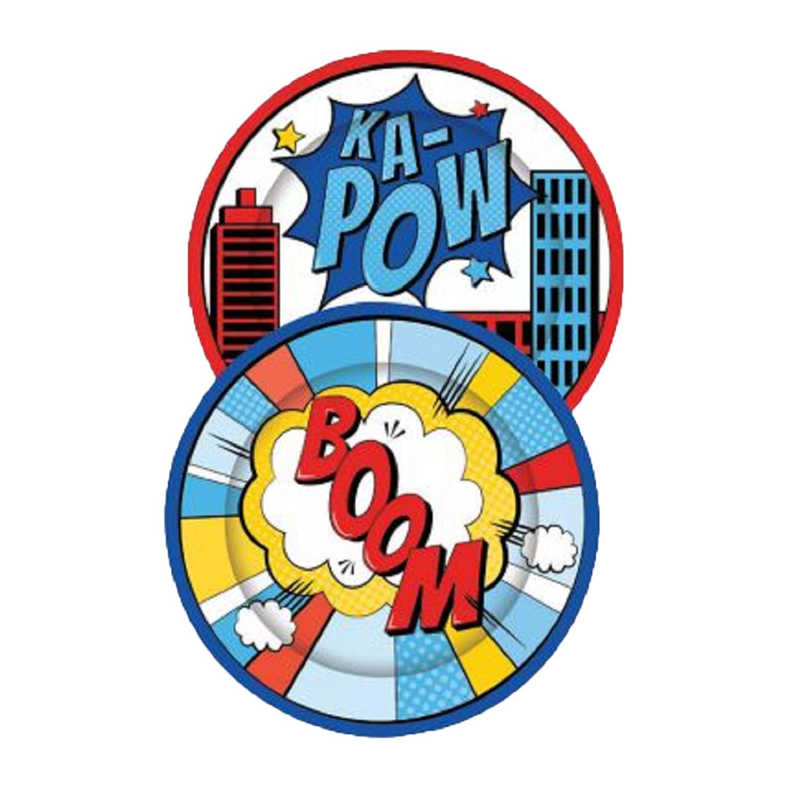 Artwrap Party Plates - Superhero