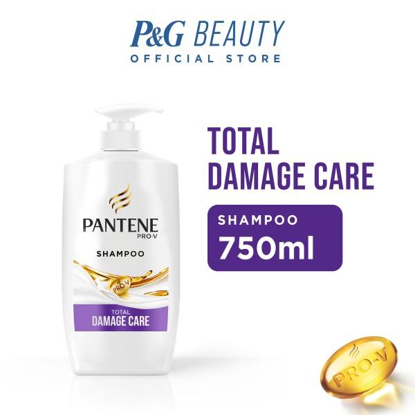 Buy Pantene Shampoo Total Damage Care 750ml Singapore
