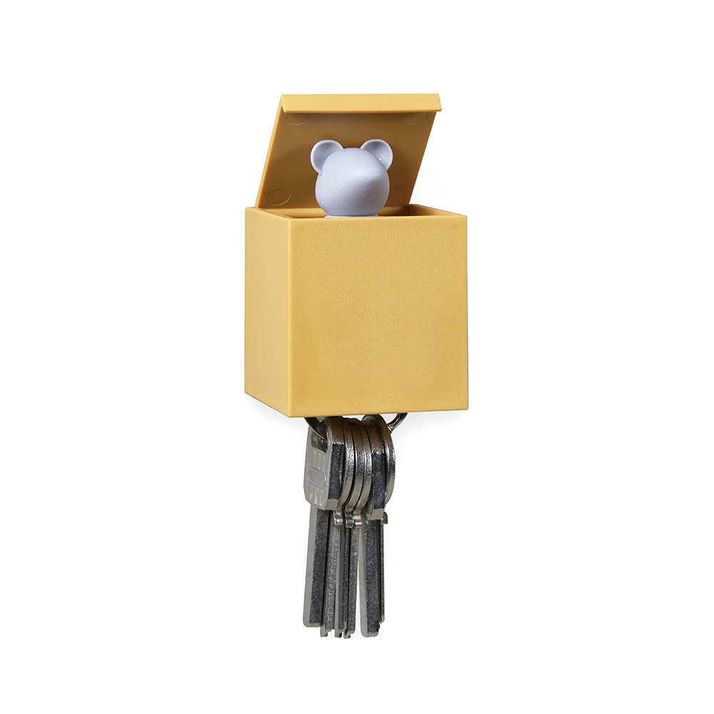 Qualy Lucky Mouse Key Holder
