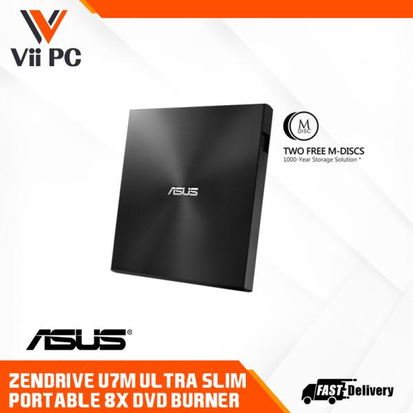 Asus ZenDrive U7M Ultra-slim Portable 8X DVD Burner SDRW-08U7M-U