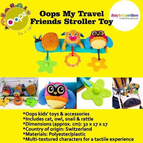 Oops My Travel Friends Stroller Toy Singapore