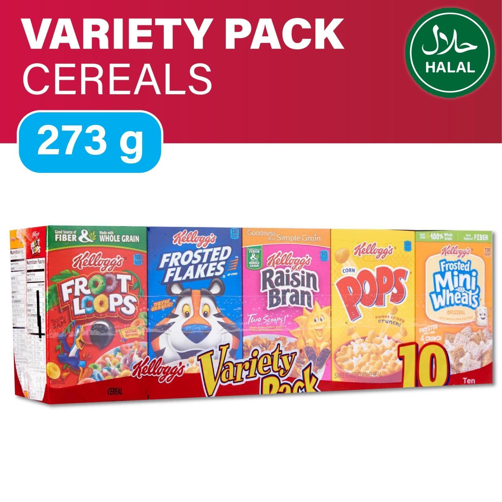 Kellogg's Variety Pack 10 boxes